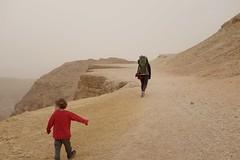 (urish) Tags: red dusty israel back desert dust wadi peres