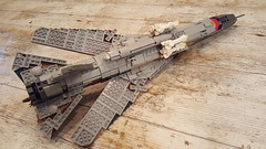 Mikoyan-Gurevich MiG-23M Flogger-B - 6 (Kenneth-V) Tags: cold scale plane airplane model war fighter lego aircraft aviation military air indoor planes finished flogger airforce russian mig 136 gurevich mikoyan mig23 moc floggerb mig23m