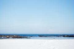 (.) Tags: morning winter sea sky snow nature japan