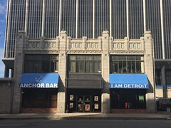 Mercier Building, Anchor Bar (jericl cat) Tags: building history skyline architecture bar mi buildings downtown terracotta gothic detroit anchor mercier 2015 iamdetroit
