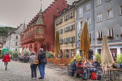 Friburgo, plaza de la Catedral y palacio episcopal . (JuanmaMateos) Tags: alemania friburgo photomatix ecologica pseudohdr juanmamateos