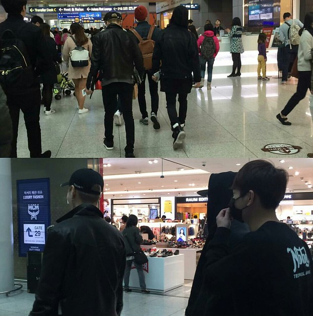 160328 SHINee @ Aeropuertos de Incheon y Shanghai {Rumbo a China} 25497292294_c2391ba064_z