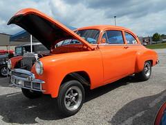 1949 Chevy Styleline (splattergraphics) Tags: chevy carshow 1949 gasser customcar styleline nsra yorkpa yorkexpocenter streetrodnationalseast