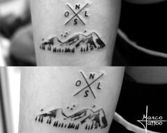 Montanha (Marco Miranda Tattoo) Tags: trao