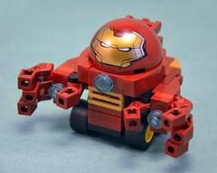 Hulkbuster Armour 01 (IamKritch) Tags: car lego ironman armour tonystark hulkbuster mightymicros