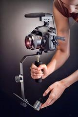 Steadycam for DSLR Cameras + Camcorders (Steadi GO) Tags: go steadi steadygo steadigo