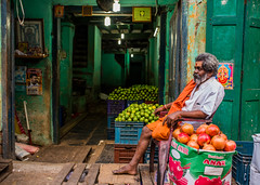 Open for Business (1/4th) Tags: street people india colour fruits 35mm nikon market streetportrait sigma georgetown d750 chennai tamilnadu shopkeeper fruitseller cwc environmentalportrait cpb parryscorner openforbusiness தமிழ்நாடு sigma35mm சென்னை chennaiweekendclickers parrysmarket sigma35mmf14dghsmart sigmaartlens பாரிமுனை chennaiphotobiennale