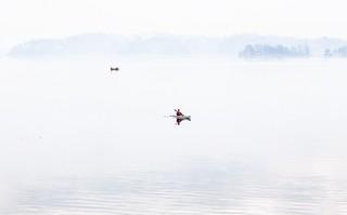 Kayak on Still Water