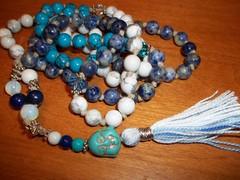 Mala 001 (3) (innerjewelz@rogers.com) Tags: handmade traditional jewelry jewellery meditation custom mala 108 mantra intention knotted japamala innerjewelz
