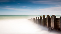 Into the Abyss (Simon Halstead Photography) Tags: sea holiday beach easter pier eastbourne southcoast groyne
