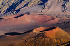 Craters within a Crater (fenicephoto) Tags: volcano hawaii maui haleakala crater sunsethaleakala