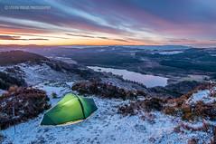 Ben A'an - First Light (Steven Fergus) Tags: winter snow mountains beautiful landscape scotland scenery hillwalking aberfoyle wintercamping queenelizabethforrest benanan thetrossachslocharchray