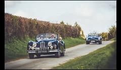 Jaguar XK 140 Cabriolet & Type E 4.2L (Laurent DUCHENE) Tags: jaguar cabriolet 140 42l xk 2016 typee rallyedaumale