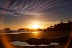 Perfect evening (bichane) Tags: sunset cloud canada colour beach evening twilight bc dusk britishcolumbia vancouverisland tofino chesterman