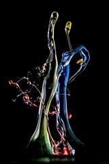 The first dance 2 (butchinsky) Tags: motion munich mnchen bayern wasser h droplet tat schmid highspeed wassertropfen slowmotion helli skulpturen splitsecond dropart makroaufnahmen watersculptures waterdropart waterdropphotography tropfenfotografie dropingwater butschinsky doublepillar butchinsky wassermitsahneundlebensmittelfarbe tropfenskulpturen wwwschmidhelmutde