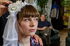Isabel and Dad (Dave Gill: Just Smile or Act Natural :/ :O ;P :)) Tags: wedding house hair spring stylist nikon175528 nikonsb22 nikonsb900 randbryan davegillphotography vivtarthristor285
