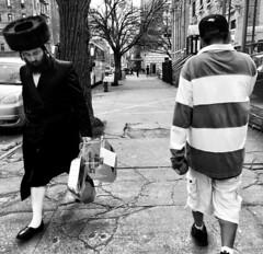 Passover (ShelSerkin) Tags: street nyc newyorkcity portrait blackandwhite newyork candid streetphotography squareformat gothamist iphone mobilephotography iphoneography shotoniphone hipstamatic shotoniphone6
