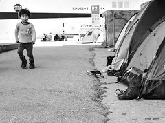 a note of optimism- refugees (mare_maris (very slow)) Tags: world poverty life street family camping boy camp smile smiling port children tents kid nikon war europe european refugees homeless streetphotography running greece help hunger immigrants asylum immigration unhcr humanitarian stopthewar garon helpless syrian bambino pireaus profughi muchacho refugiados  betterworld  withoutshelter rfugis thebalkans  campingtents  makeshiftcamp  refuggecrises anoteofoptimism