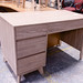 Three drawer office desk various
