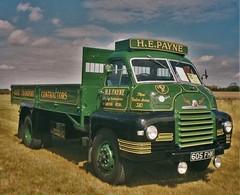 H E Payne Bedford S Type 605 FHK (Shaun Ballisat Transport Photography) Tags: old classic truck vintage bedford photography big photos transport s historic h lorry e gathering type trucks he payne 605 fhk lorries 605fhk