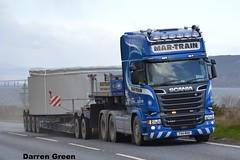 MAR-TRAIN SCANIA R580 V8 T44 MHH (denzil31) Tags: ireland train mar wind farm scania streamline mhh enercon heavyhaulage t44 stgocat3 euro6 r580v8 broshuisextendabletrailers edintore