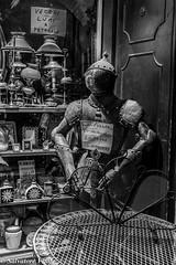 ...bazar (Roman_77) Tags: old blackandwhite shop nikon italia armor negozio lumi antico bazar umbria biancoenero armatura vecchio bevagna d7100 roman77