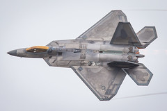 F-22 Raptor '16 (R24KBerg Photos) Tags: canon airplane nc fighter military awesome flight jet fast northcarolina airshow raptor stealth f22 airforce usaf 2016 cherrypoint marinecorpsairstation mcascherrypoint