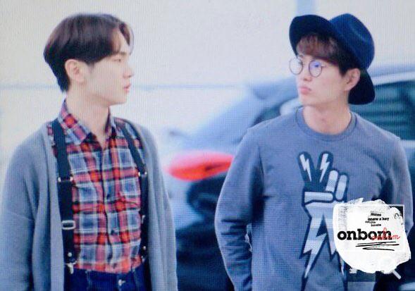 160401 SHINee (Sin Jonghyun) @ Aeropuerto de Incheon {Rumbo a Japón} 26154981901_c17dfc0959_z