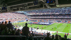 greenbay vs bears (timp37) Tags: chicago game field soldier football illinois bears nfl september packers greenbay 2015
