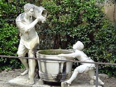 Sculpture in Boboli Gardens in Florence (chibeba) Tags: city urban italy florence spring europe april 2016 citybreak