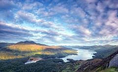 The Robber's Loch (J McSporran) Tags: landscape scotland trossachs benvenue lochkatrine benaan