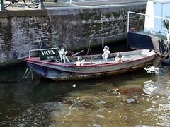 Ship of Putti - 1 (the justified sinner) Tags: wood netherlands amsterdam boat canal md minolta 14 panasonic cherub bella 50 vena hideous putti rokkor gx7 justifiedsinner