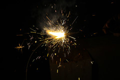 Sparkler (Akhil Sanjeev) Tags: fireworks sparkler sparks vishu