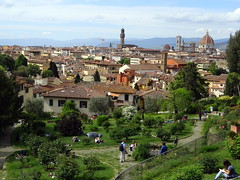 View of Florence from the rose garden (chibeba) Tags: city urban italy florence spring europe april 2016 citybreak