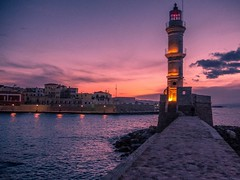 Warm #sunset #Chania #crete #creative #lighthouse #port #hellas #greece #sunrise_sunsets_aroundworld (pdion) Tags: travel sunset sea lighthouse port hellas greece crete chania instagramapp uploaded:by=instagram