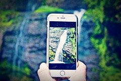 Canonphotography Eye4photography  Canon1000d Catch The Moment IPhoneography Iphone6 Waterfall Flowing Water at Cascata di Ferrera (andrea.s1lvestr0) Tags: waterfall flowingwater eye4photography canonphotography catchthemoment canon1000d iphoneography iphone6