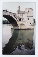 Le Pont d'Avignon (jakem) Tags: france avignon polaroidweek fujifilminstax100 roidweek instaxwide