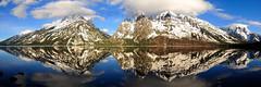 Tetons Opening Day (alan.griffin16) Tags: lake mountains reflection water rockies nationalpark spring tetons grandteton jennylake