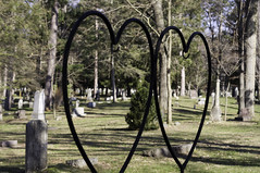 eternal love (thisservantsheart) Tags: cemetery grave stone death graves burial haunting
