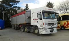 20160423 R.R.Andrew,  Tideswell PO14 FKD (Skillsbus) Tags: england truck andrews tipper derbyshire peakdistrict renault lorry tideswell lorries prestige