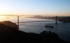 Sunrise over the Bay! (Dan Hogman) Tags: sanfrancisco bridge bay goldengate bayarea