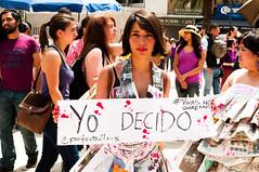 Yo decido. (Yamileth Ruiz Avia) Tags: woman mxico mujer women mexicocity df abril 24 mujeres marcha feminists feministas 2016 24a ciudaddemxico feminista marchafeminista vivasnosqueremos