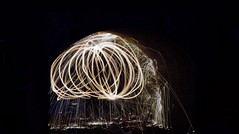 cage of fire (williams.stuart72) Tags: park wool night wire nikon long exposure steel baggeridge d3300
