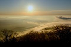 Golden Hour from Reddish Knob (SLanier) Tags: mountains art fog clouds sunrise landscape nikon shenandoahvalley goldenhour goldenlight nikon1755 1755f28 d7100
