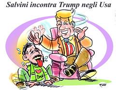 SalvyTrump (Moise-Creativo Galattico) Tags: trump vignette satira attualit moise giornalismo salvini editoriali moiseditoriali editorialiafumetti