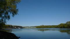 Oissel - Bords de Seine (jeanlouisallix) Tags: france nature seine river landscape eau lumire rivire maritime normandie reflets paysages haute fleuve oissel