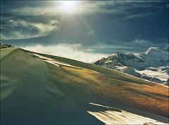 Winter day - Verbier (Katarina 2353) Tags: winter sunset mountain snow alps film landscape switzerland nikon swiss verbier katarinastefanovic katarina2353