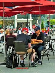 Chess Game (Senifalu) Tags: toronto game chess dundassquare