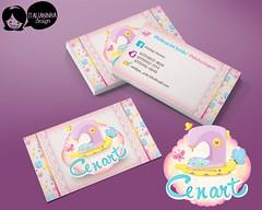 cenart (Solangedanielle) Tags: visual logotipo facebook carimbo identidade mascotes empreendedores criativos artedocartodevisita