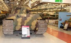 Tiger II 23rd Sept 2015 #2 (JDurston2009) Tags: england unitedkingdom dorset tankmuseum bovingtoncamp kingtiger bovington tigerii royaltiger thetankmuseum pzkpfwvi